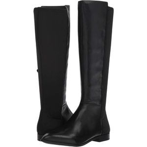 Nine West Owenford Leather Knee High Boots